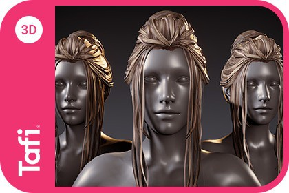 Ashley Hair Female from Tafi