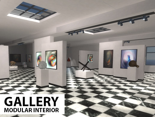 Gallery - modular interior