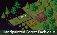 Handpainted Forest Pack v2.0