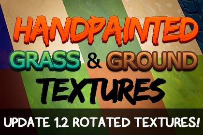 Handpainted Grass & Ground Textures