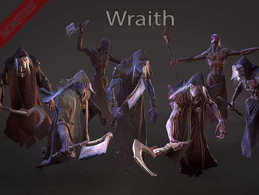 Monsters - Wraith