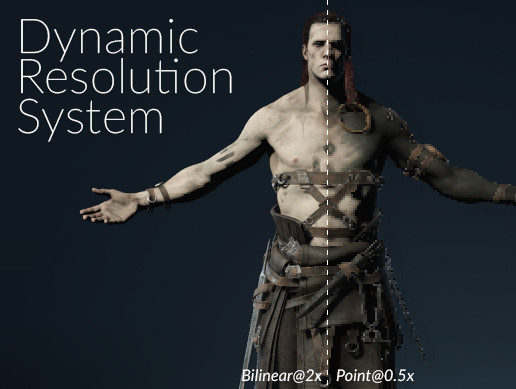 DRS: Dynamic Resolution System