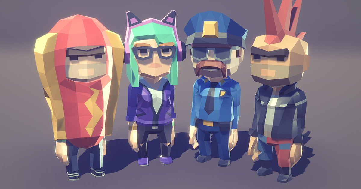 POLYGON MINI - City Character Pack