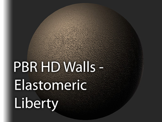 PBR HD Walls Elastomeric Liberty