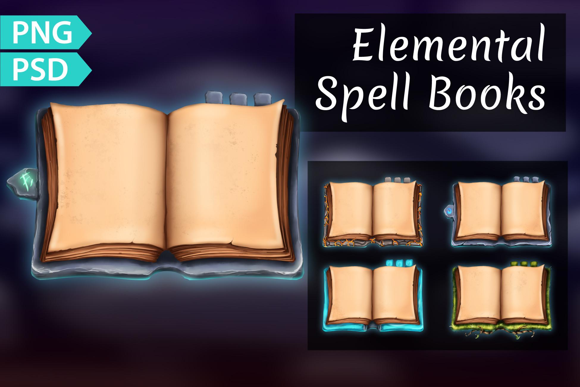 Spell Books Open