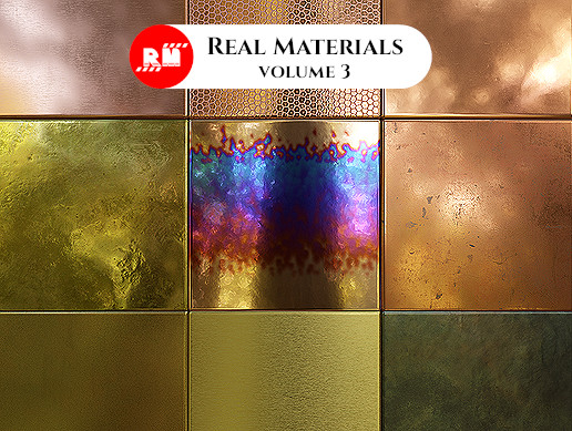 Real Materials vol.3 - Copper and Brass