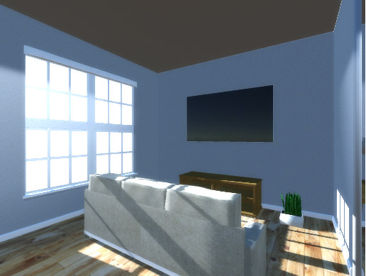 VR Ready Furnished Apartment Room