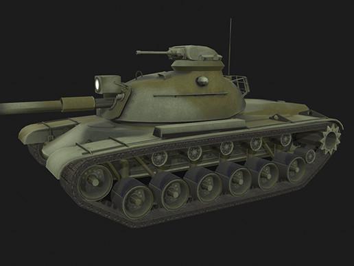 Tank M48 Patton