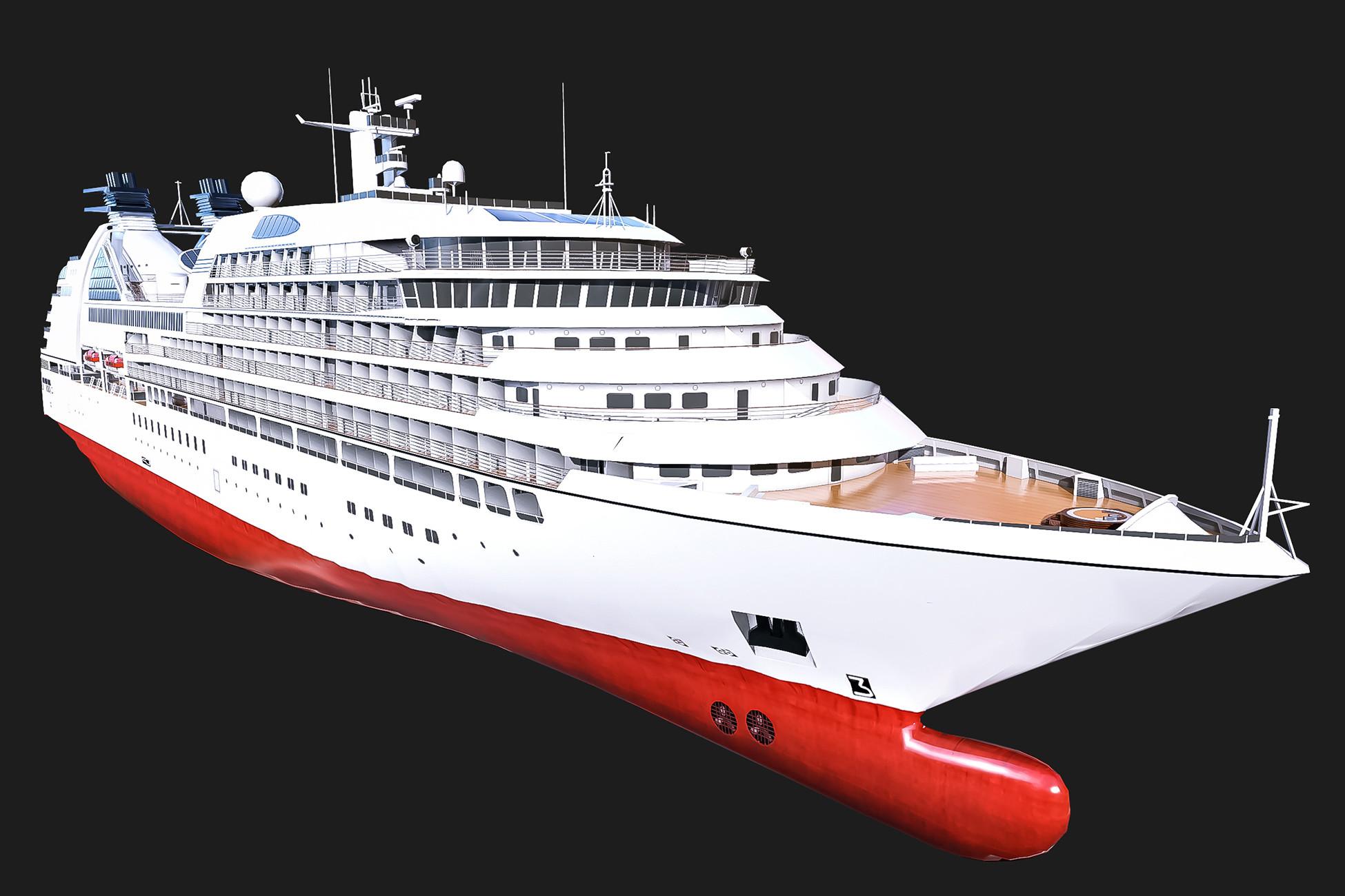 Cruise Ship - Ocean
