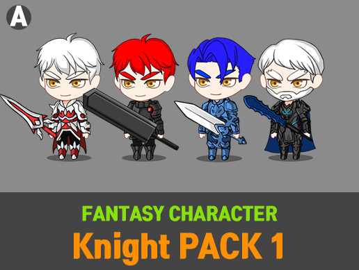 Fantasy Character Knight Pack 1