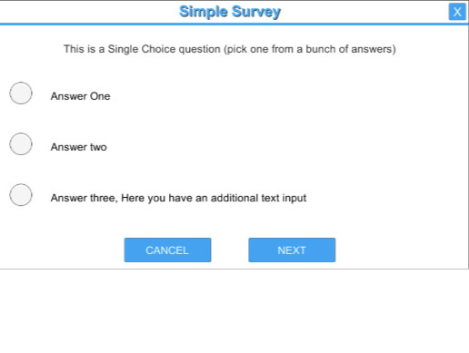 Simple Survey - Create Your Own Polls