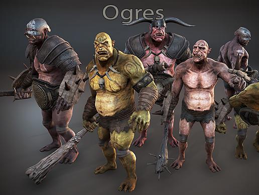 Fantasy Horde - Ogres