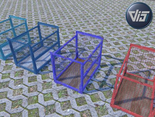 PBR - Metalcage box