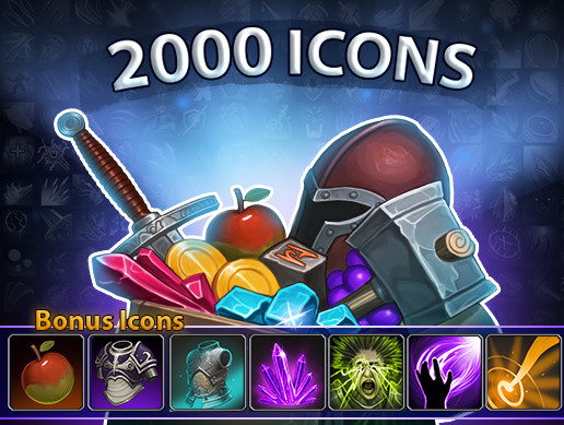 2000 Fantasy Icons