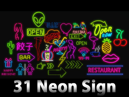 Ultimate Neon Sign Pack