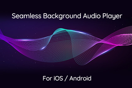 Seamless Background Audio Player