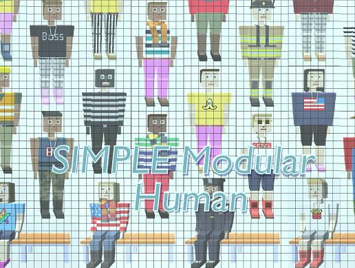 SIMPLE modular human