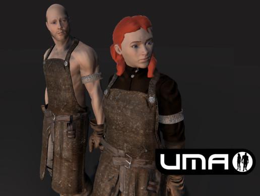 UMA Blacksmith Male+Female