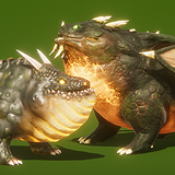 Dragon the Soul Eater and Dragon Boar