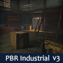 PBR RPG/FPS Game Assets (Industrial Set v3)