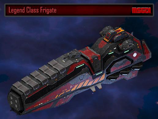 Scifi Frigate Legend