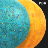 PBR Colored Concrete Collection