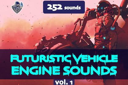 Futuristic Vehicle Engine Sounds