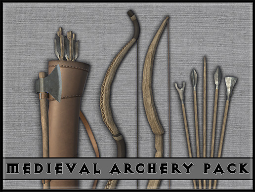 Archery Bows,Arrows and Quiver pack