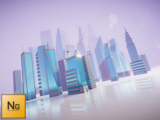 LowPoly City Vol.2 Skyscrapers