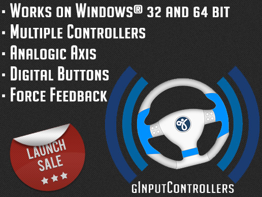 gInputControllers - multi joystick and force feedback manager