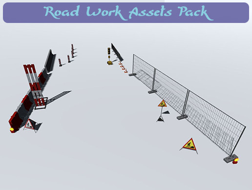 Road Work Assets Pack