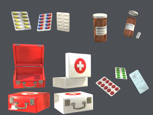 Realistic First Aid Kit