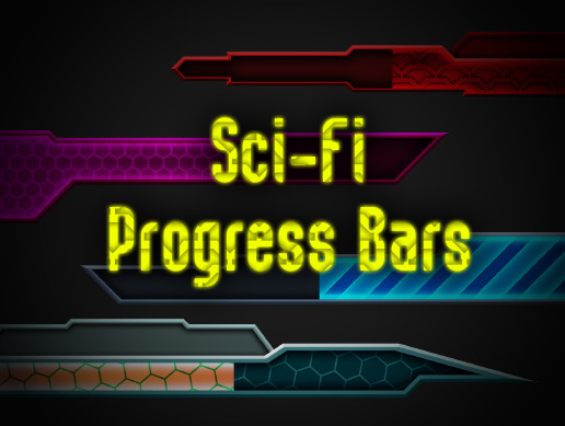 Progress Bars - Sci-Fi Ui Pack