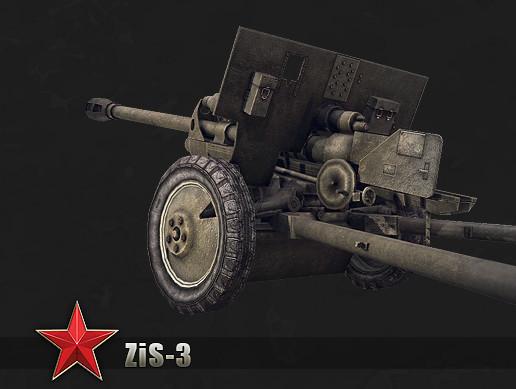 Divisional gun ZIS-3 76mm