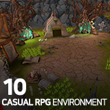 Casual RPG Environment 10