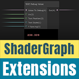 ShaderGraph Extensions: Debug Value