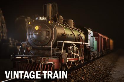 Vintage train 1