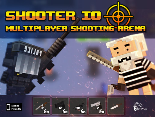 Shooter IO with Battle Royale game mode