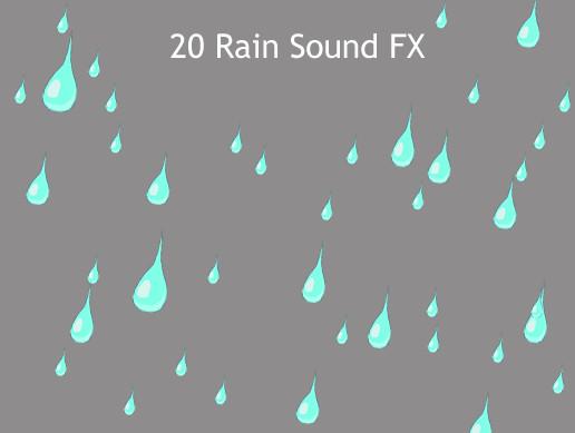 20 Rain Sound FX - Asset Store