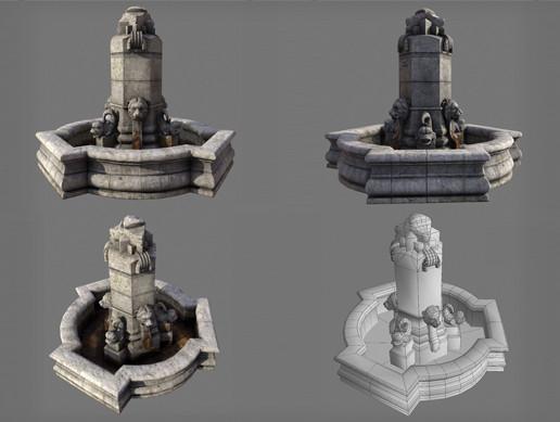 Fountain Valencia