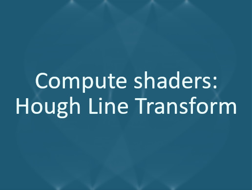 Compute shaders: Hough Line Detection
