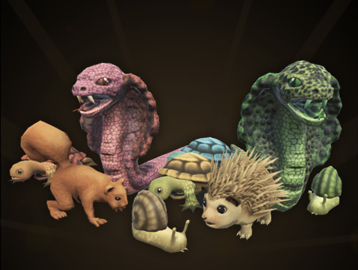 Small Animals, Cartoon Critters Pack
