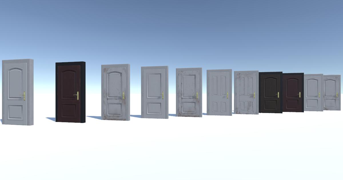 Classic Interior Door Pack 1