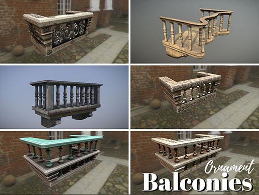 Ornament Balconies