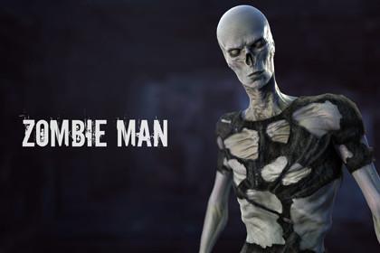 HQ Zombie Man