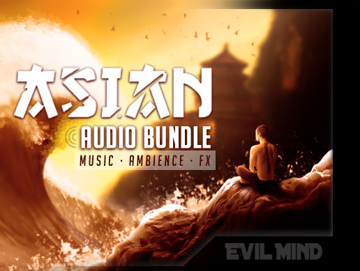 Asian Audio Bundle (Music + Ambience + Effects)