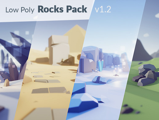 Low Poly Rocks Pack