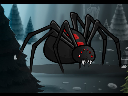 Giant Black Widow Spider