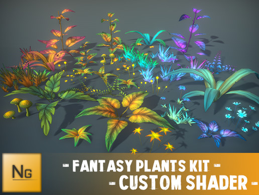 Customizable Plants Pack