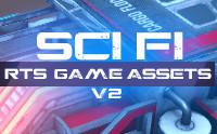 RTS Sci-Fi Game Assets v2